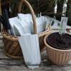 Planteskilte - Hvide. 10 cm. - 25 stk.
